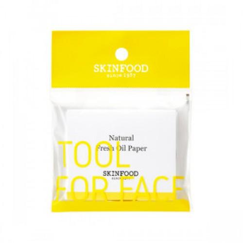 SKINFOOD Natrural Fresh Oil Paper 100ea