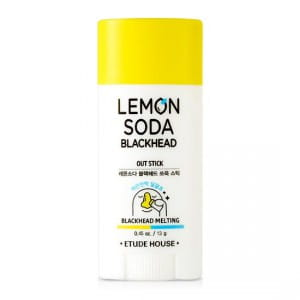 Стик для очищения кожи Etude House Lemon soda black head out stick 13g