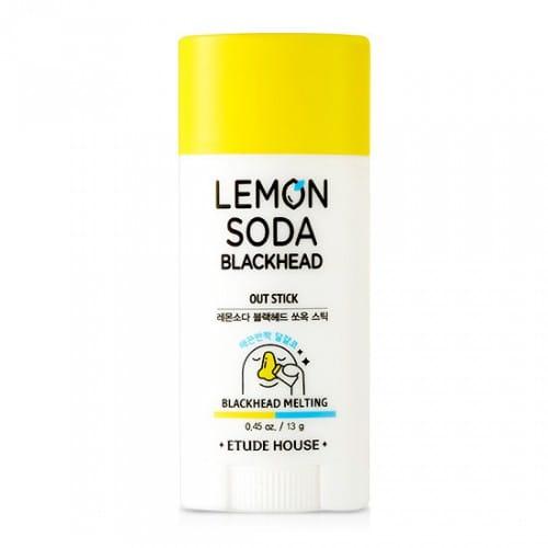 Стик для очищения кожи Etude House Lemon soda black head out stick 13g