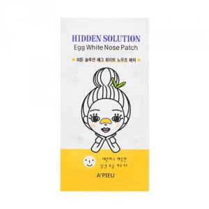 APIEU Hidden Solution Egg White Nose Patch 1ea