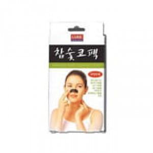 Очищающие полоски для носа LUKE Charcoal Nose Cleansing Strips 10pcs