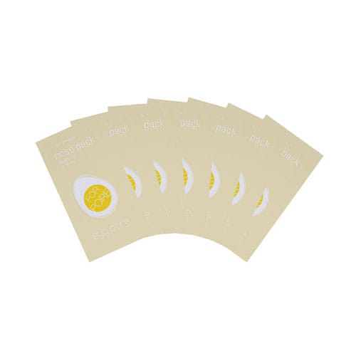 Очищающий пластырь для кожи носа Tony Moly Egg Pore Nose Pack Package 7ea [NEW]