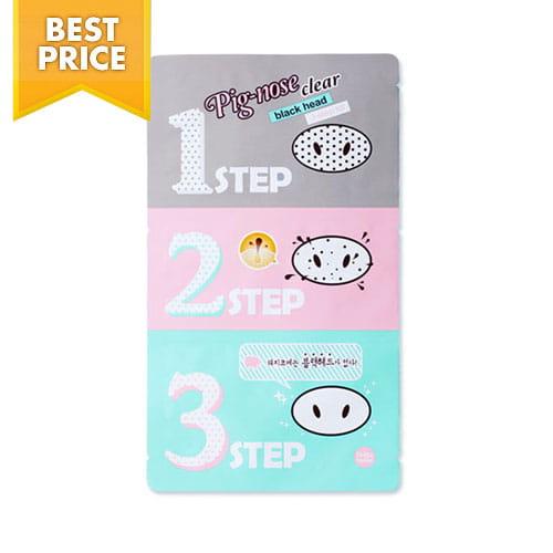 Стикер для очищения кожи носа Holika Holika Pig-Nose Clear Blackhead 3-Step Kit