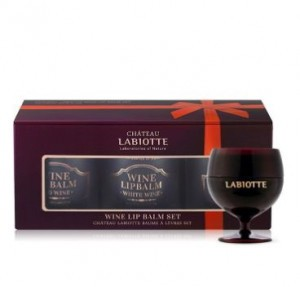 LABIOTTE Chateau Labiotte Wine Lip Balm Set