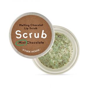 ETUDE HOUSE Melting chocolat Lip Scrub (Mint Chocolate) 12g