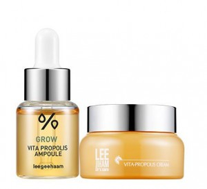 Leegeehaam Grow Vita Propolis ampoule + cream set