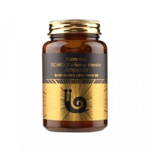 Ампульная сыворотка для лица с экстрактом королевской улитки Farmstay Escargot Noblesse Intensive Ampoule 250ml