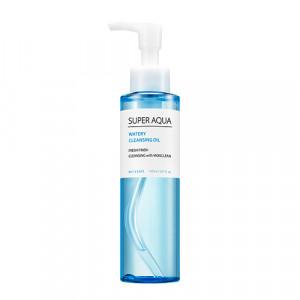 Гидрофильное очищающее масло с экстрактом лотоса Missha Super aqua watery cleansing oil 150ml