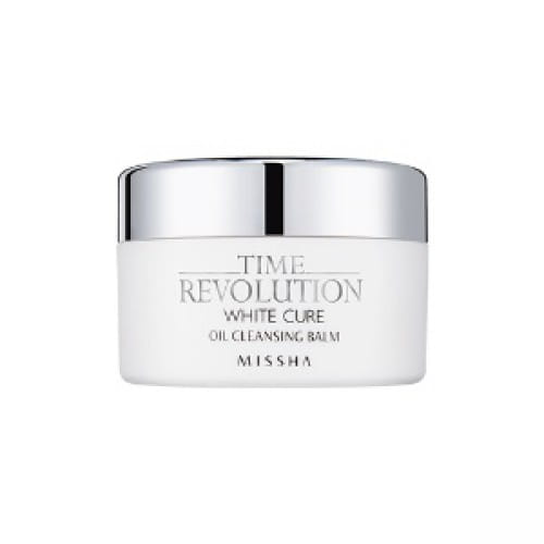 Бальзам для глубокого очищения пор Missha Time revolution white cure oil cleansing balm 105g