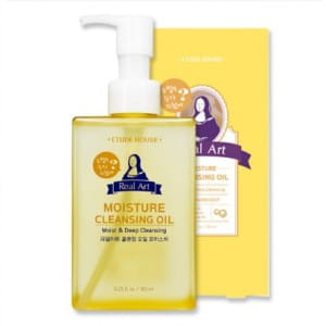ETUDEHOUSE Real Art Cleansing Oil Moisture NEW 185ml