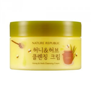 NATURE REPUBLIC Honey & Herb Cleansing Cream 215ml