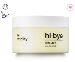 BANILA CO hi bye vita peel clear pad 85ml