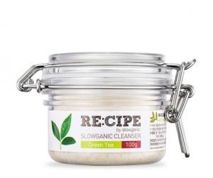 RE:CIPE Slowganic Cleanser Green Tea 100g