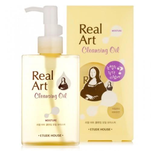 Гидрофильное масло Etude House Real art cleansing oil moist 200 ml