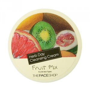 THE FACE SHOP Herb Day Cleansing Cream - Fruits Mix 150ml
