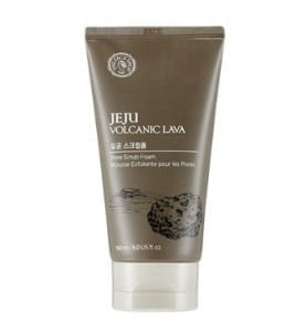 Пенка-скраб для проблемной кожи лица The Face Shop Jeju Volcanic Lava Pore Scrub Foam 150ml