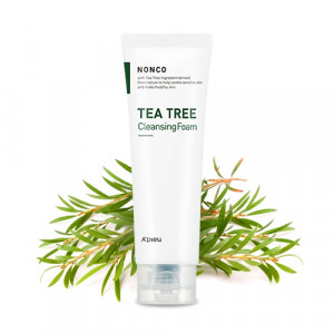 Очищающая пенка Apieu Nonco tea tree cleansing foam 130ml