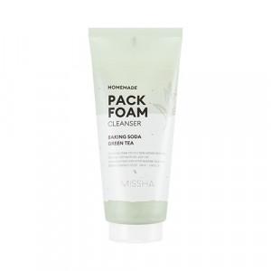 Очищающая маска-пенка Missha Homemade pack foam cleanser 150ml