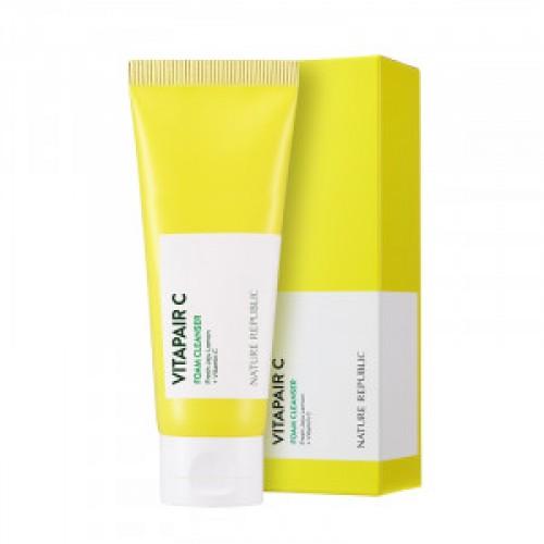 Очищающая пенка-скраб Skinfood Black sugar perfect scrub foam 180g