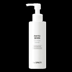 THE SAEM Phyto Seven Oil To Foam Cleanser 180ml