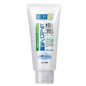 Пенка для умывания лица HADALABO Gokujyun Face wash 100g