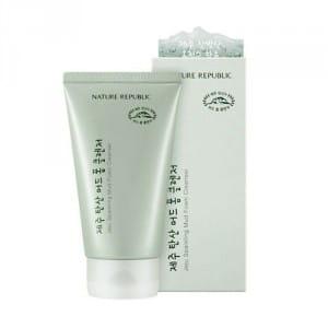 Пенка для умывания лица NATURE REPUBLIC Jeju Sparkling Mud Foam Cleanser 150ml