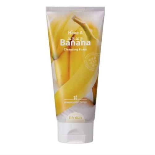 Мягкая очищающая пенка для умывания It's Skin Have a Banana Cleansing Foam 150ml