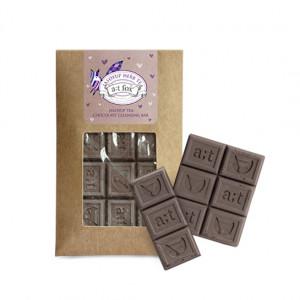 A;T FOX Jasoyup Tea Chocolate Cleansing Bar 45g