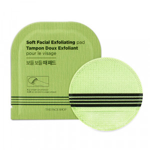 THE FACE SHOP Soft Facial Exfoliating Pad 8g*5ea