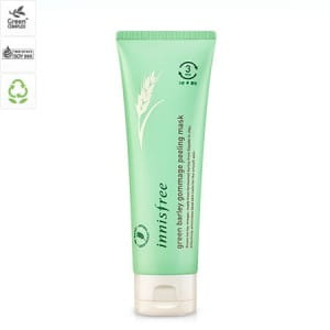Маска пилинг-гоммаж Innisfree Green barley gommage peeling mask 120ml