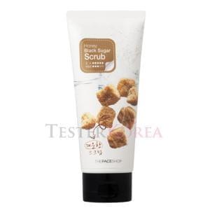 Скраб для лица с медом и черным сахаром  The Face Shop Smart peeling honey black sugar scrub 120ml