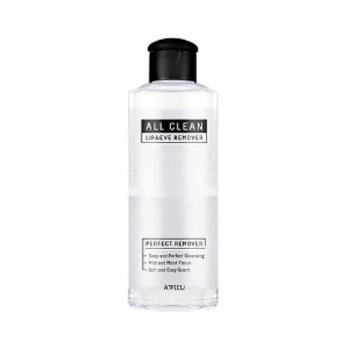 APIEU All Clean Lip & Eye Remover 160ml (White Lily)