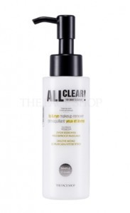THE FACE SHOP All Clear Lip & Eye Make Up Remover 100ml