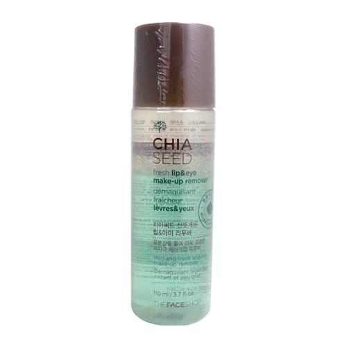 Средство для снятия макияжа The Face Shop Chia Seed Fresh Lip & Eye Make-Up Remover 110ml