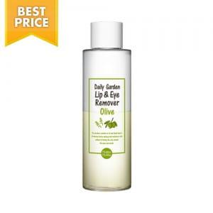 Жидкость для снятия макияжа с глаз и губ с оливковым маслом  Holika Holika Daily Garden Lip & Eye Remover Olive 200ml