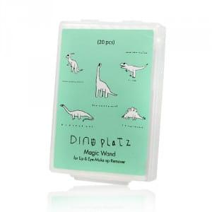 Салфетки для снятия макияжа Too Cool For School Dinoplatz Magic Wand For Lip&Eye Make-up Remover Stick 20pcs