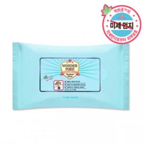 Влажные салфетки Etude House Wonder pore freshner tissue 10sheets