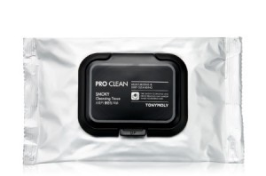 TONY MOLY Pro Clean Smoky Cleansing Tissue 30sheets