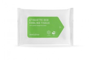 INNISFREE Etiquette Deo Cooling Tissue 15sheets