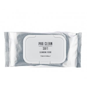 Очищающие салфетки Tonymoly Pro clean soft cleansing tissue 50ea