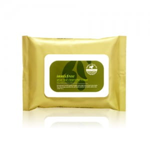 Очищающие салфетки для лица Innisfree Olive Real Cleansing Tissue (30 Sheets)