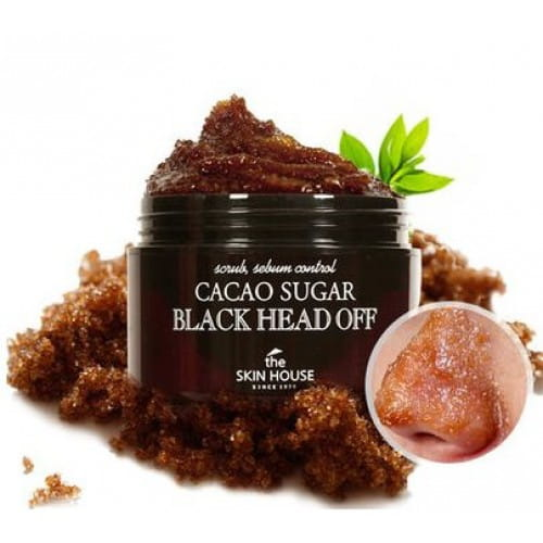 THE SKIN HOUSE Cacao sugar Black head off 50g