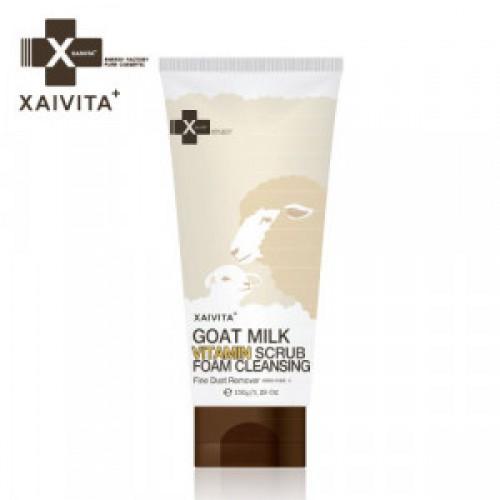 XAIVITA Goat Milk Vitamin Scrub foam cleansing 150ml