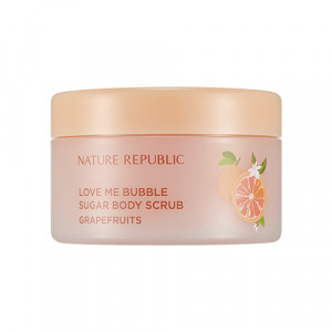 Сахарный скраб для тела Nature Republic Love me bubble sugar body scrub