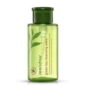 Вода для очищения кожи и демакияжа с зеленым чаем Innisfree Green tea cleansing water 300ml