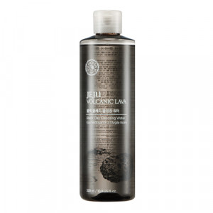THE FACE SHOP Jeju Volcanic Lava Clay Cleansing Water 320ml