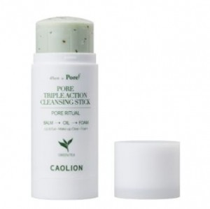 CAOLION PORE Triple Action Cleansing stick (Greentea) 50g