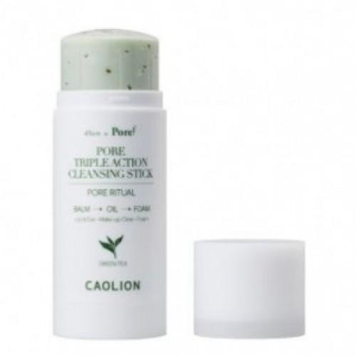 CAOLION PORE Triple Action Cleansing stick (Greentea) 50g