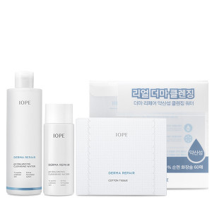 IOPE Derma Repair pH Balancing Cleansing Water Set