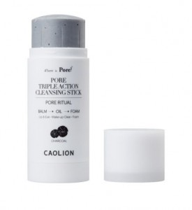 CAOLION PORE Triple Action Cleansing stick (Charcoal) 50g